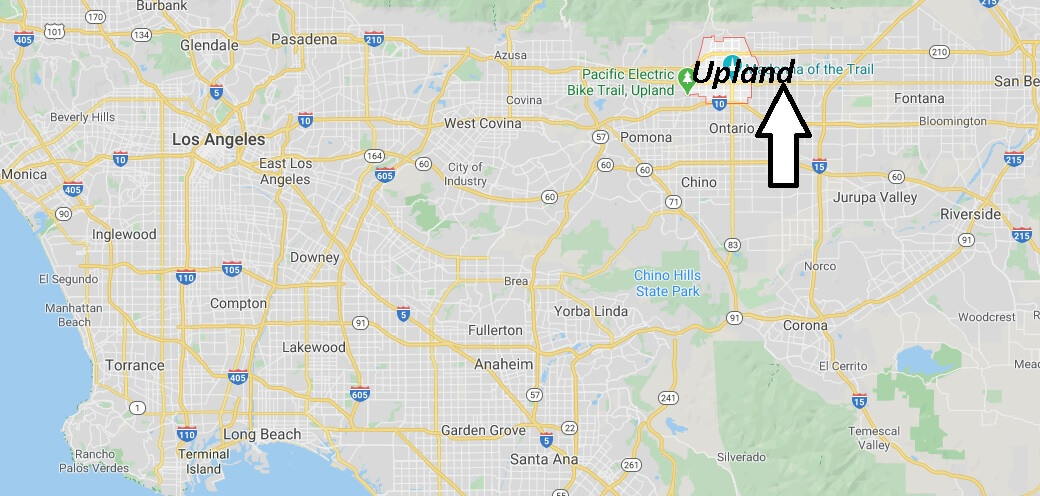 Where is Upland California? What County is Upland in