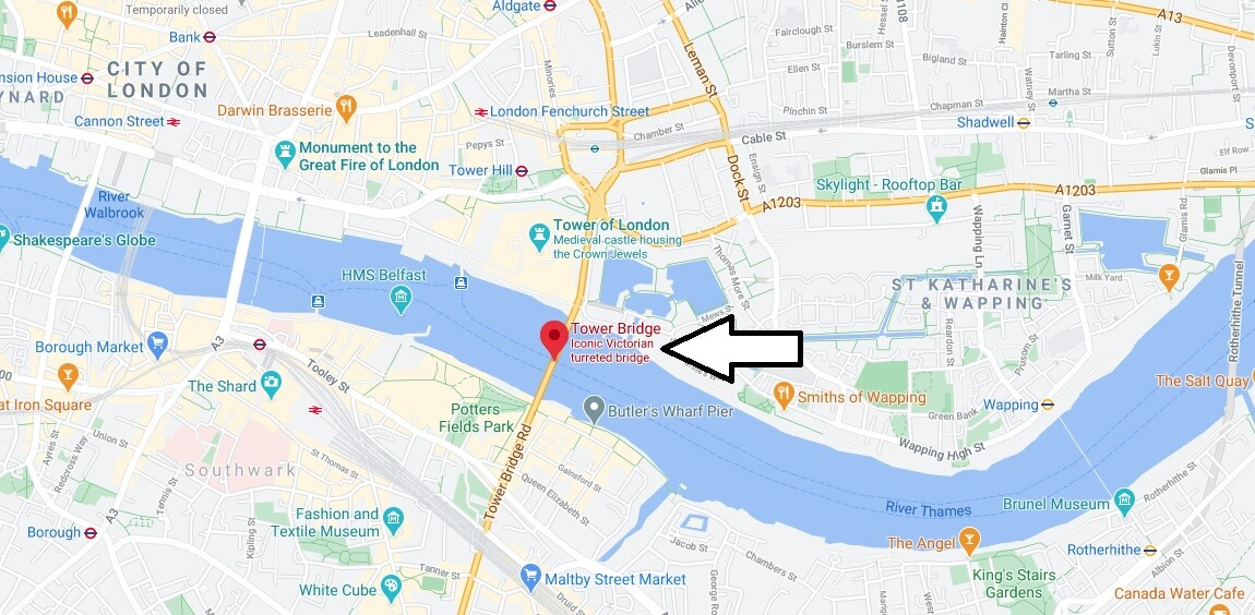 What area is Tower Bridge