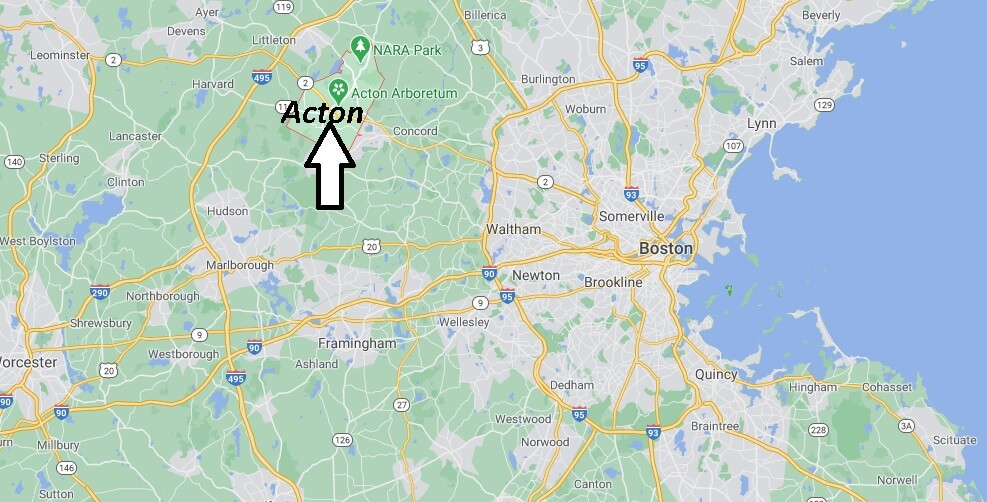 What county is Acton Massachusetts in