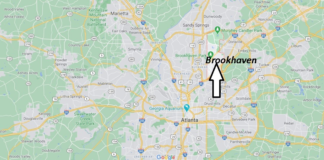 What county is Brookhaven Georgia in