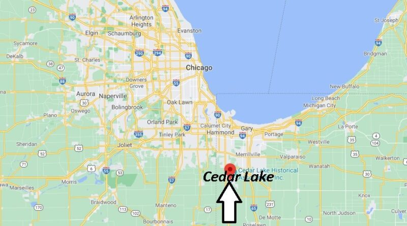 What county is Cedar Lake Indiana in