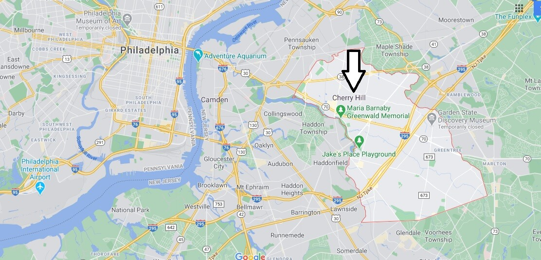 What county is Cherry Hill New Jersey