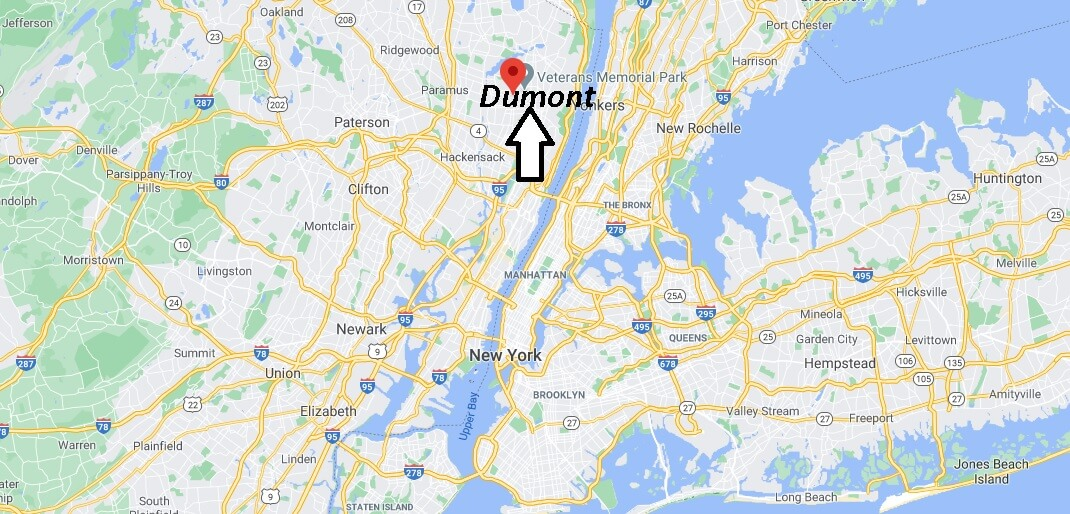 What county is Dumont NJ