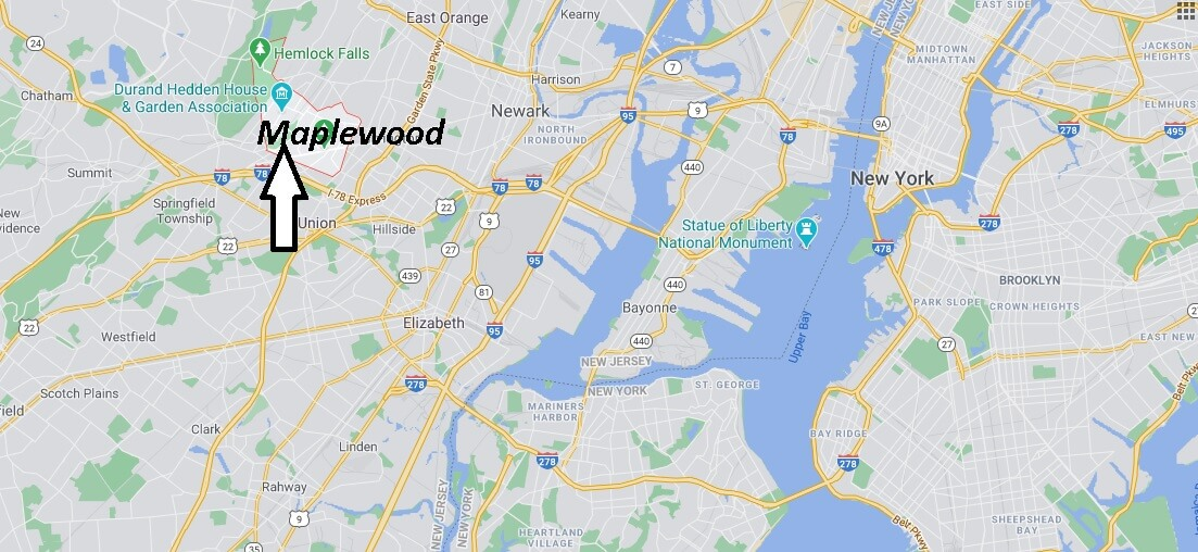 What county is Maplewood NJ in