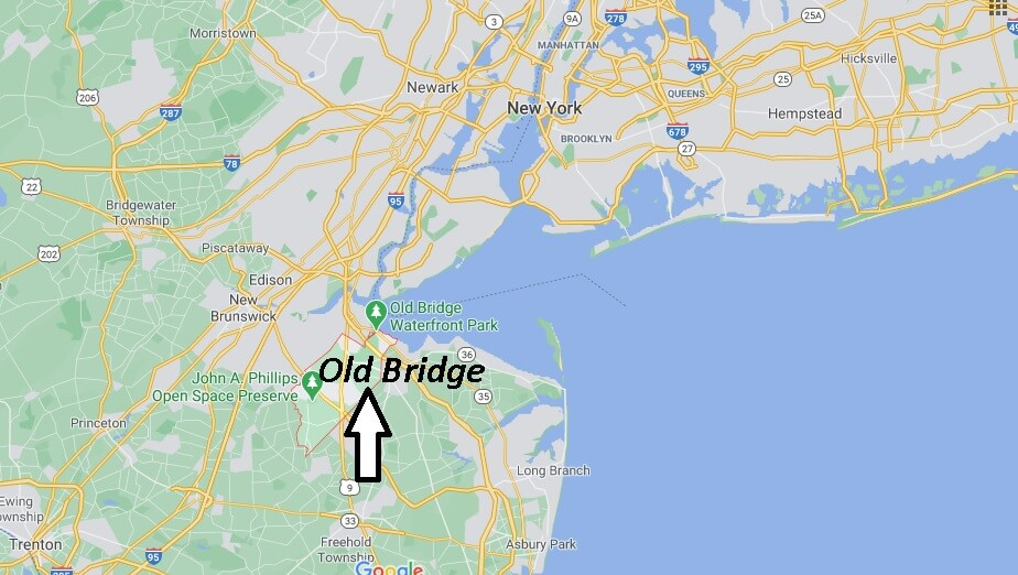 What county is Old Bridge NJ in