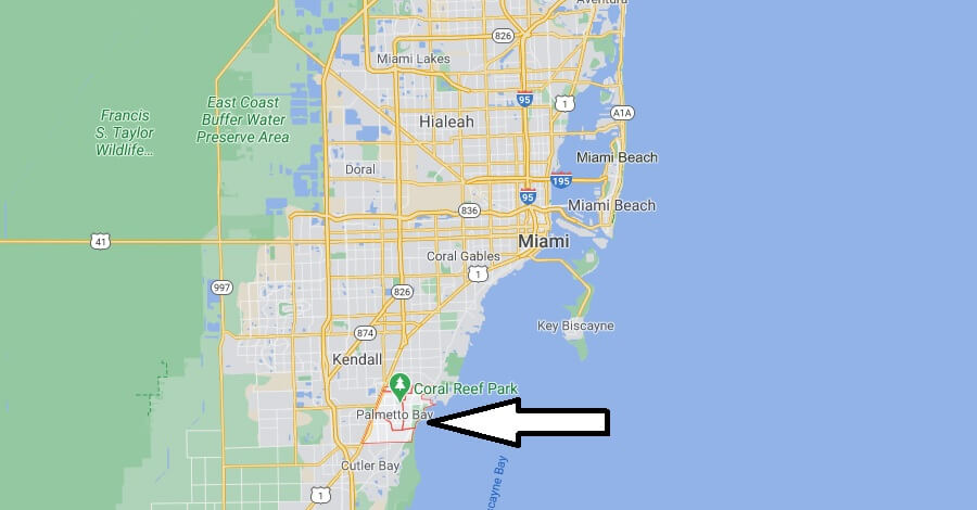 What county is Palmetto Bay Florida in
