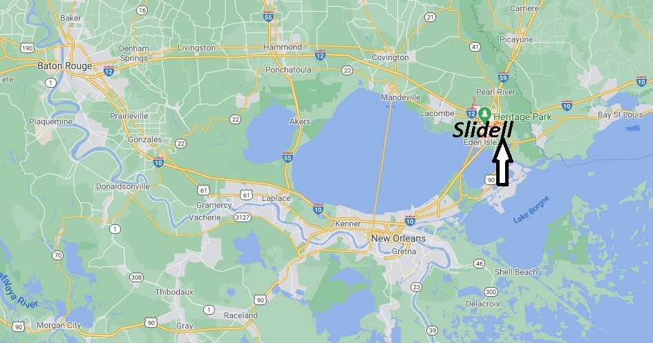 What county is Slidell LA in