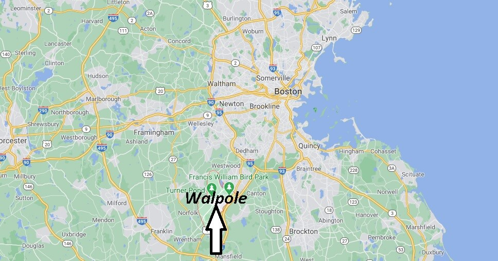 What county is Walpole Massachusetts in