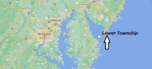 What towns are in Lower Township NJ