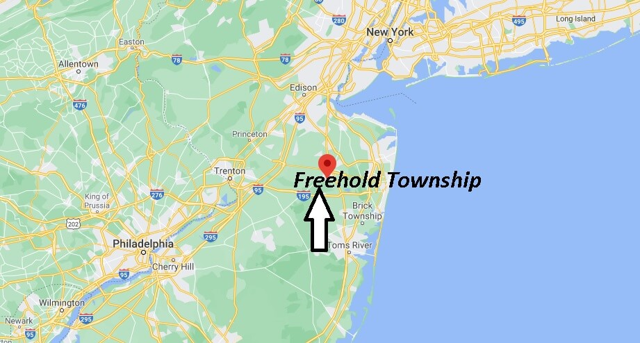 What township is Freehold NJ in