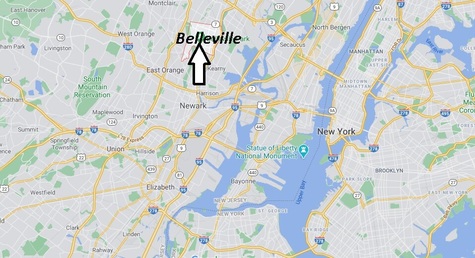Where is Belleville Located