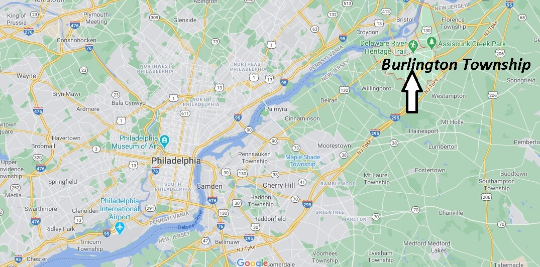 Where is Burlington Township Located