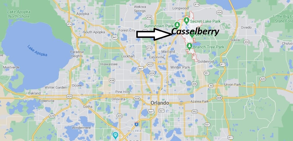 Where is Casselberry Located