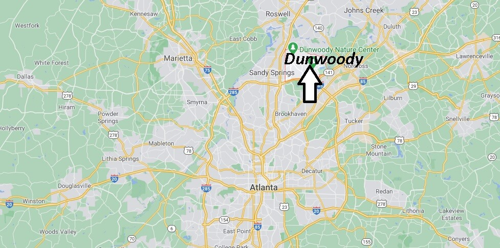 Where is Dunwoody Located