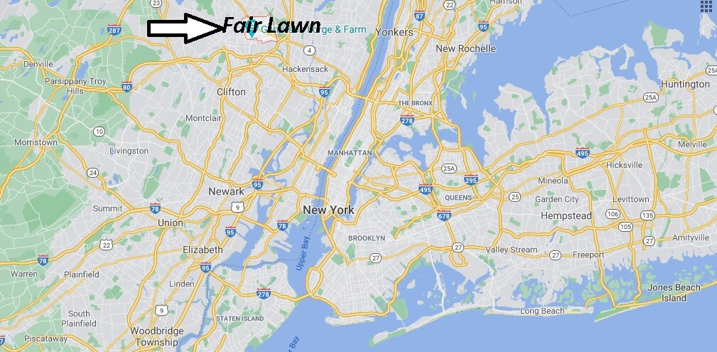 Where is Fair Lawn Located