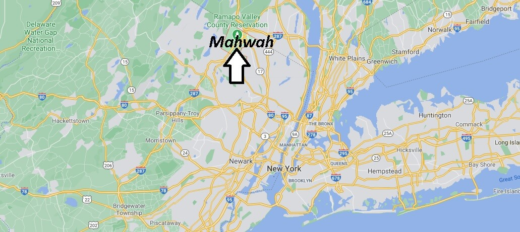 Where is Mahwah Located