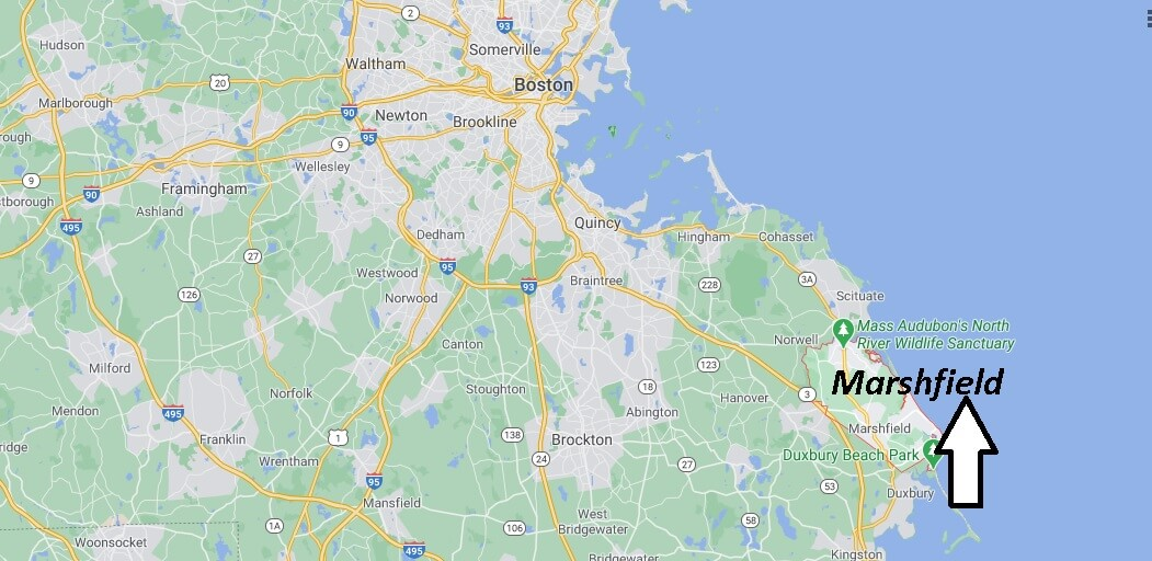 Where is Marshfield Located