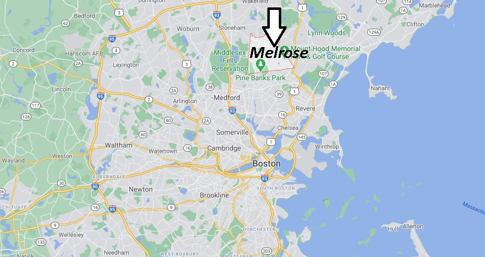 Where is Melrose Located