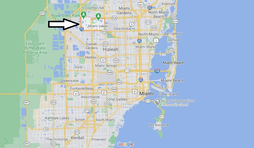 Where is Miami Lakes Located