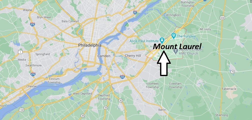 Where is Mount Laurel Located