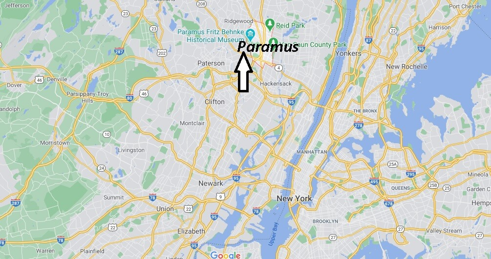 Where is Paramus Located