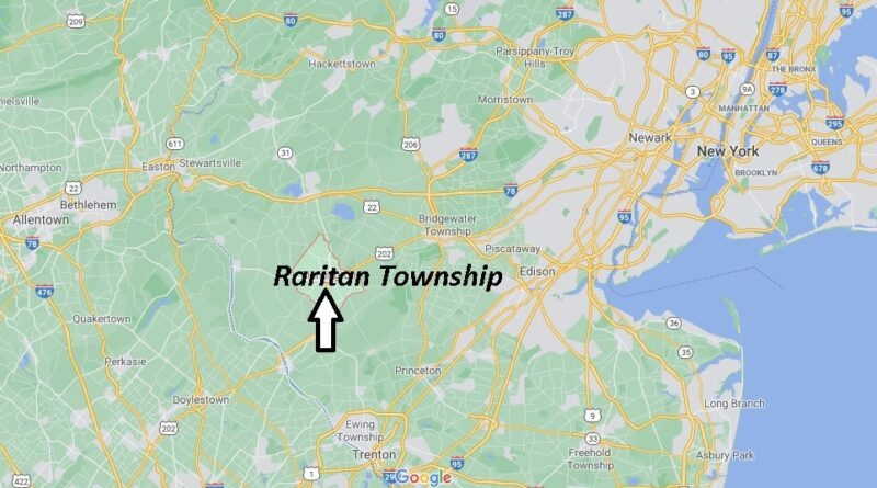 Where is Raritan Township Located