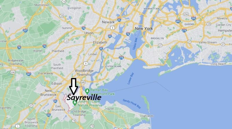 Where is Sayreville Located