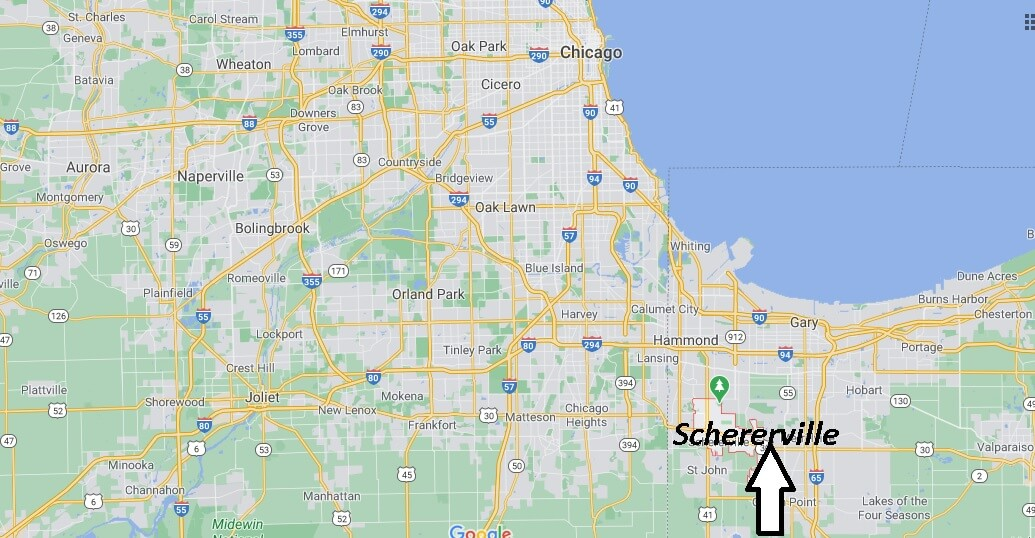 Where is Schererville Indiana? What county is Schererville IN in