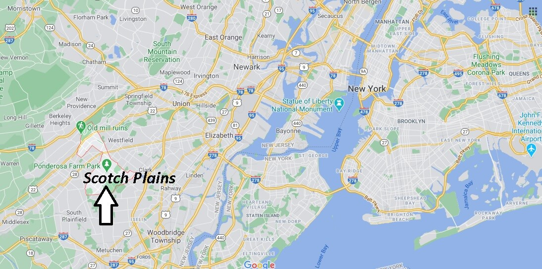 Where is Scotch Plains Located