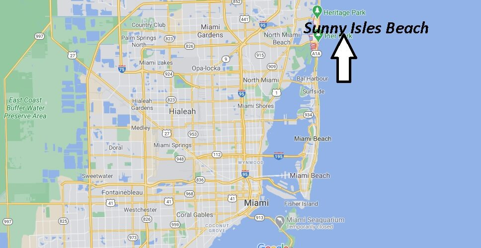 Where is Sunny Isles Beach Located