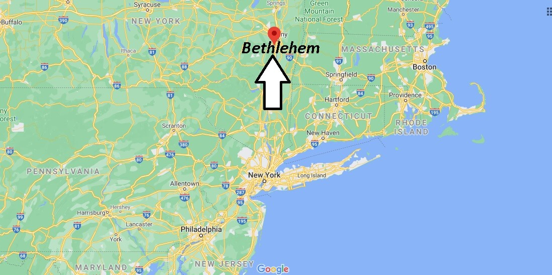 Is there a Bethlehem New York