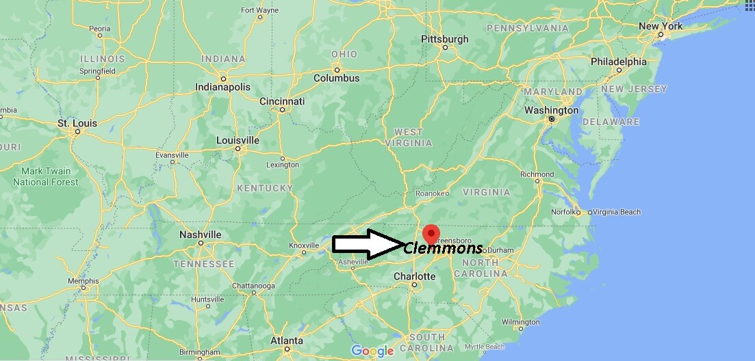 What county is Clemmons North Carolina
