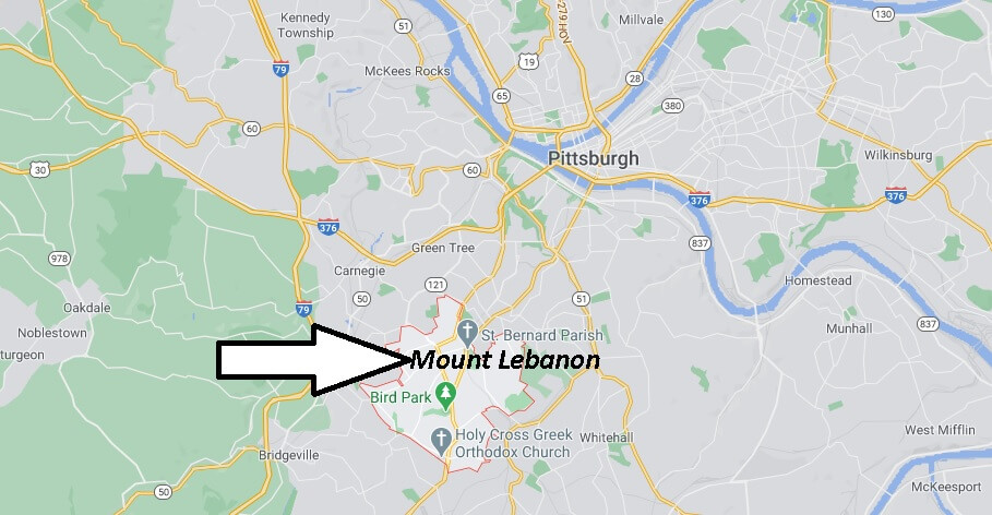 What county is Mount Lebanon PA in