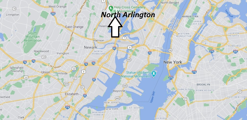 What county is North Arlington New Jersey in