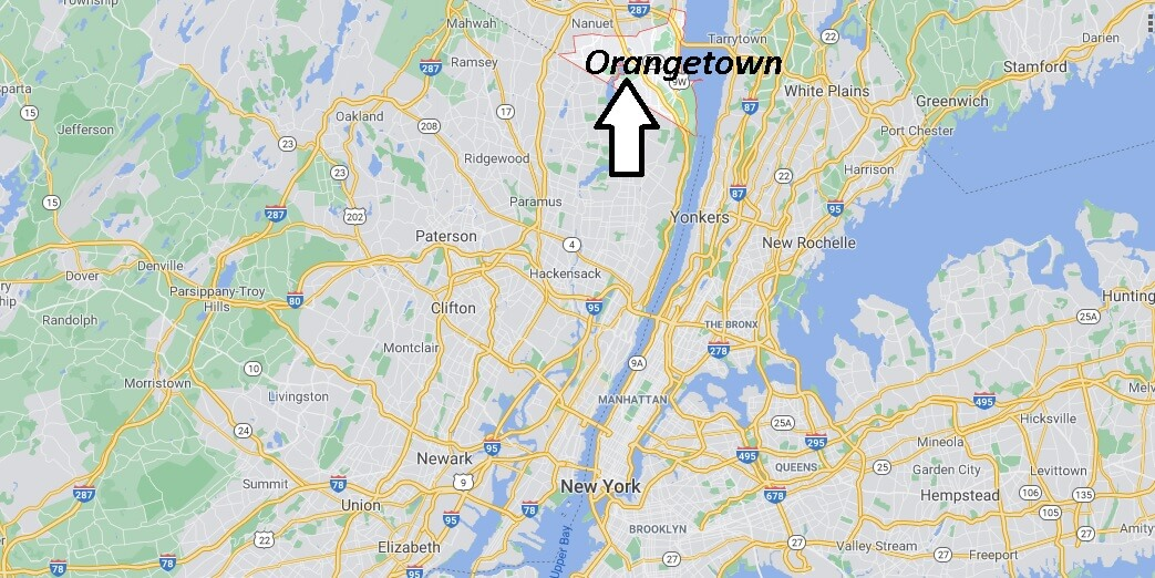 What county is Orangeburg NY in