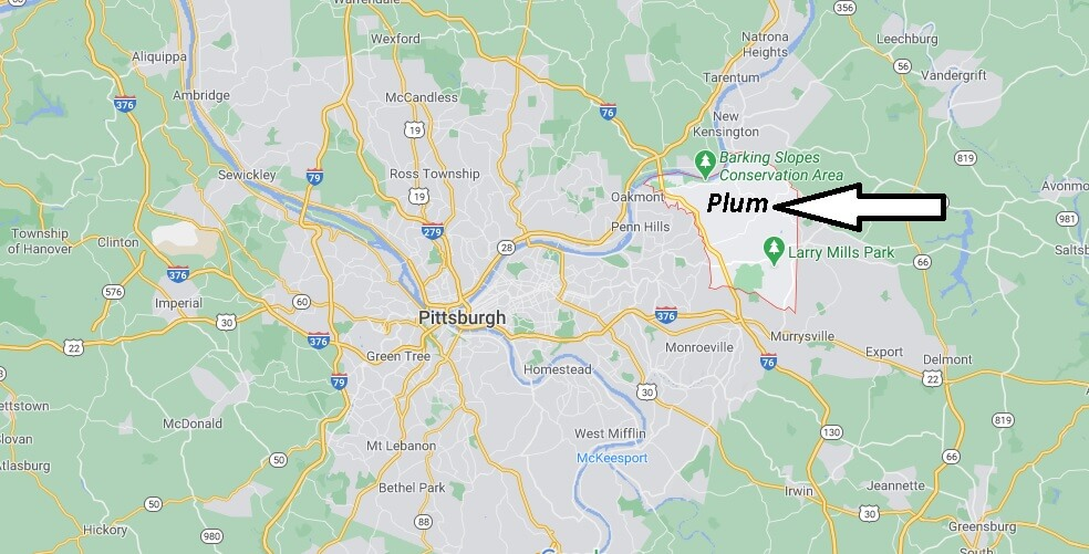 What county is Plum PA in
