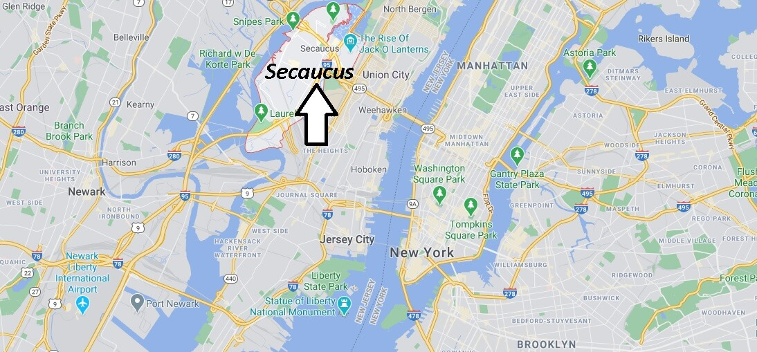 What county is Secaucus New Jersey in