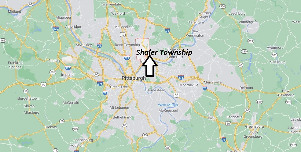 What county is Shaler Township PA in