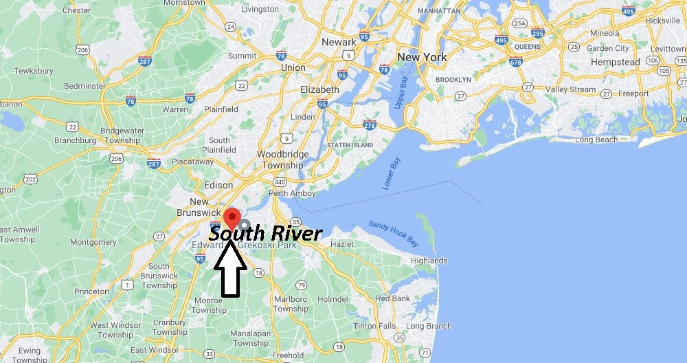 What county is South River NJ