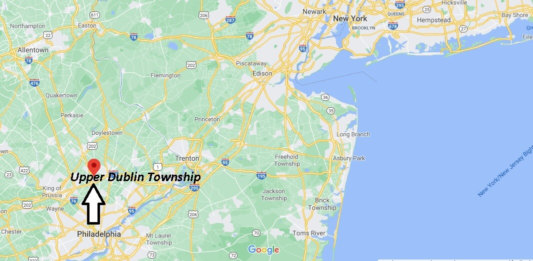 What county is Upper Dublin Township PA in
