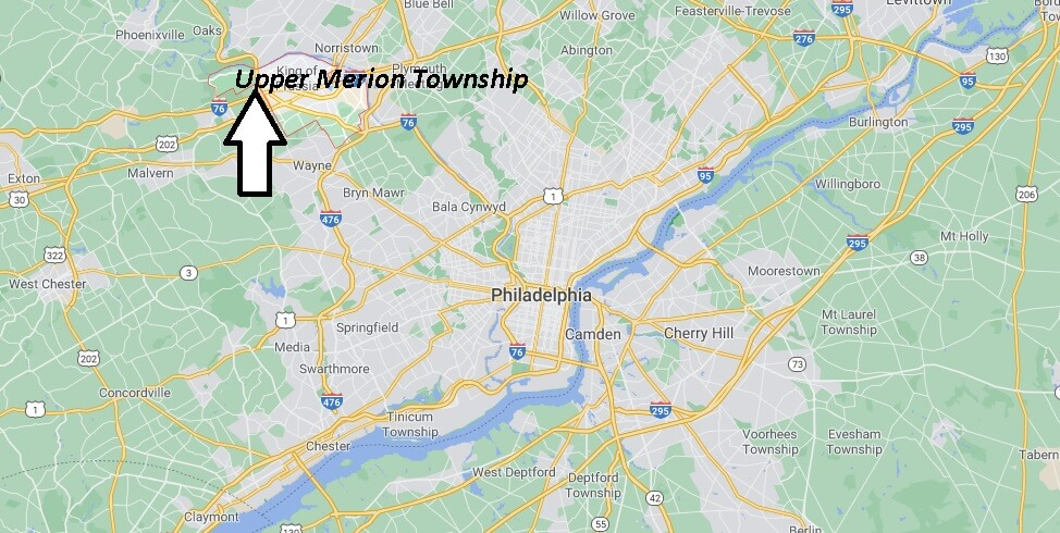 What county is Upper Merion Township PA in