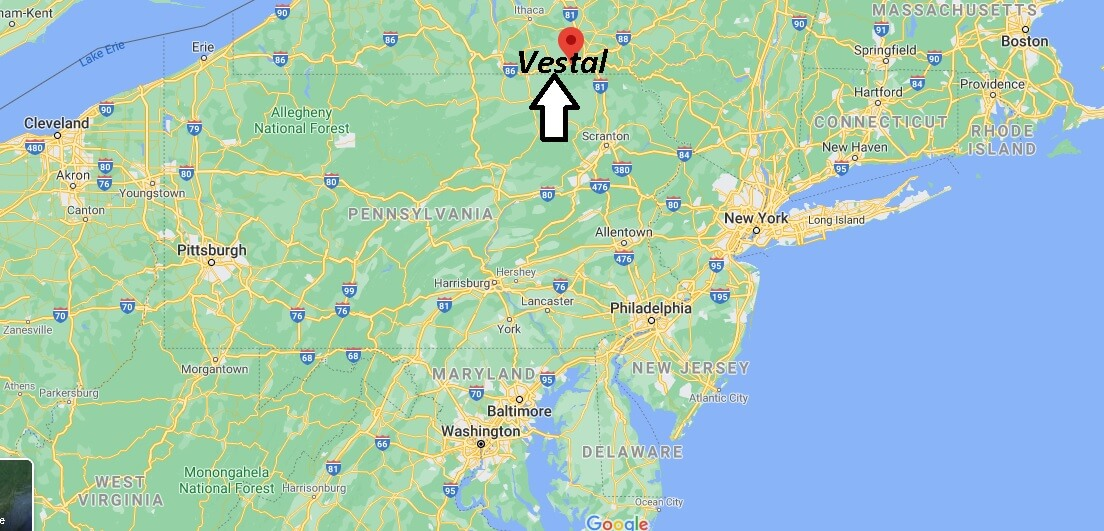 What county is Vestal New York in