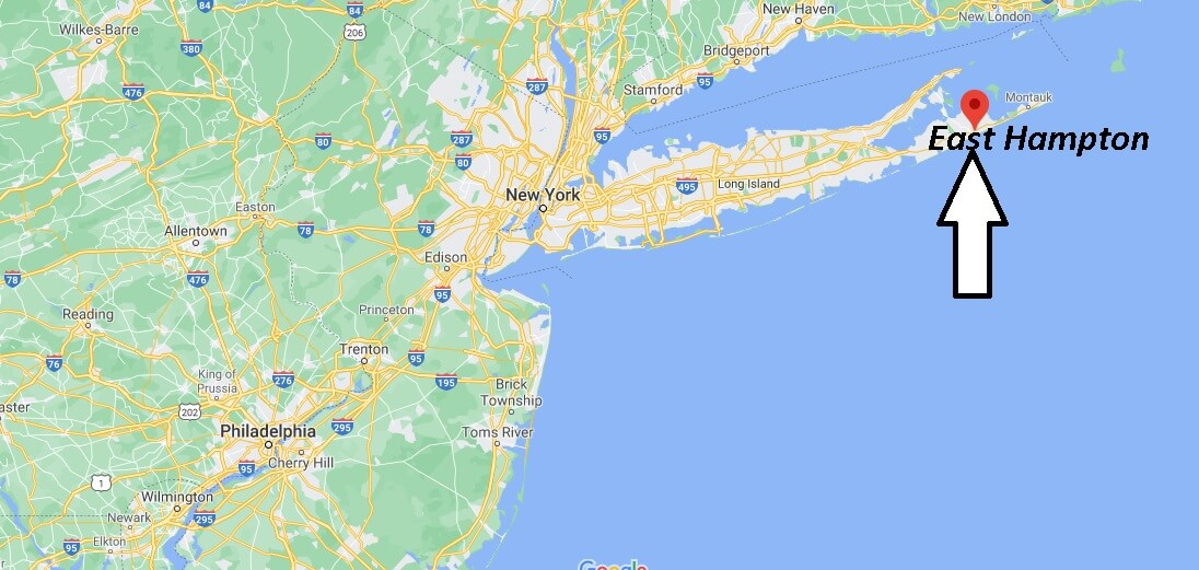 What towns are in East Hampton
