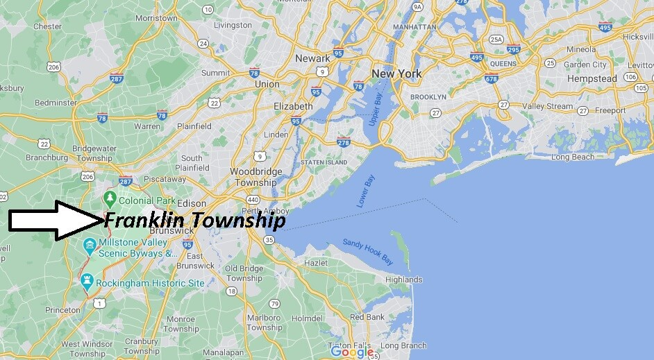 What towns are in Franklin Township NJ