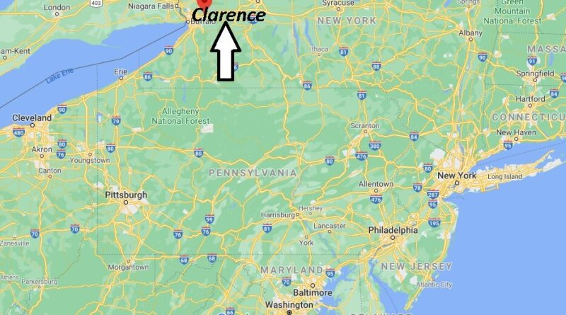 Where is Clarence Located