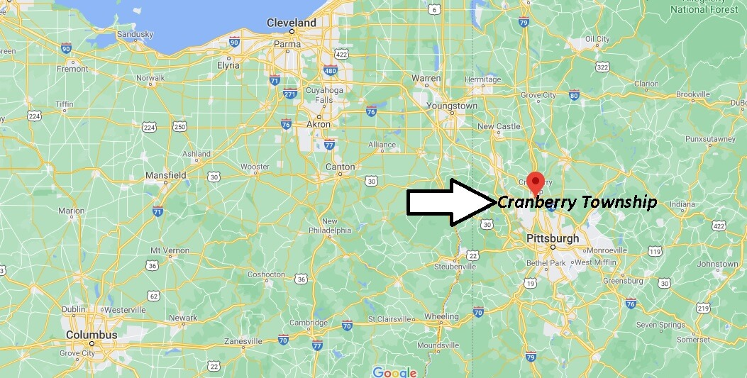 Where is Cranberry Township Located