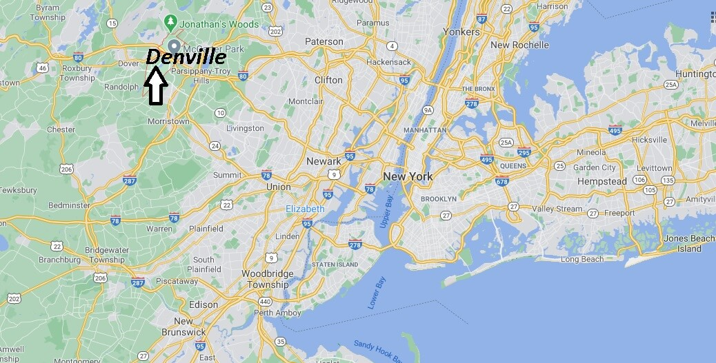 Where is Denville Located