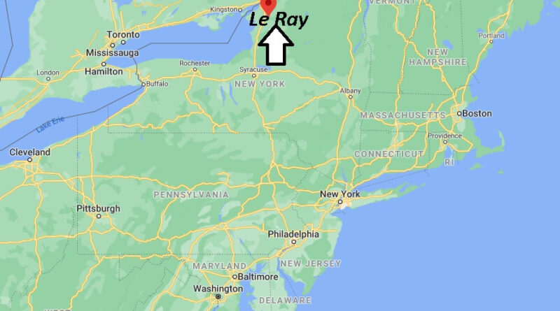 Where is Le Ray Located