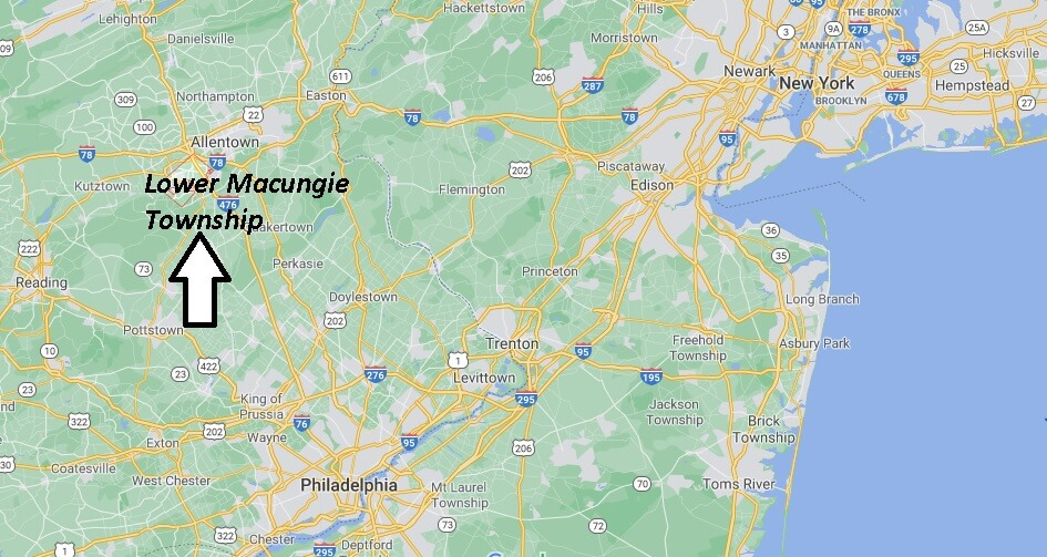 Where is Lower Macungie Township Located