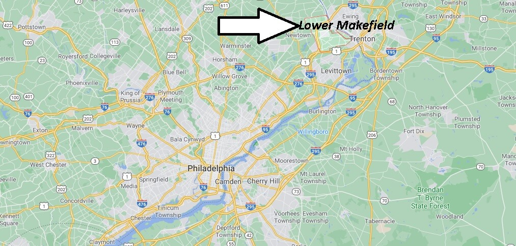 Where is Lower Makefield Located